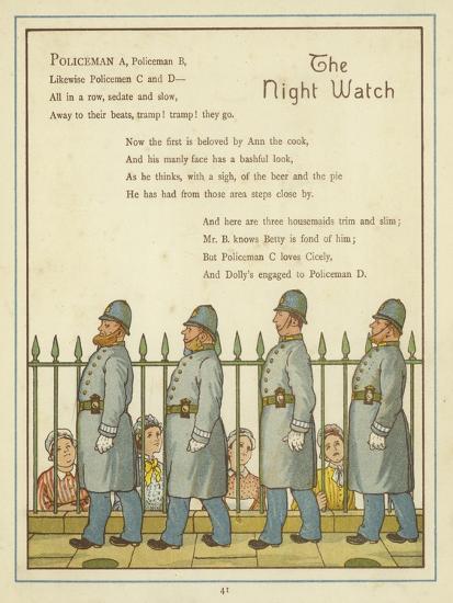 The Night Watch-Thomas Crane-Giclee Print