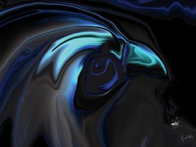 The Nighthawk-Rabi Khan-Art Print