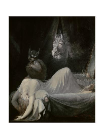 The Nightmare, Ca. 1790-91-Johann Henrich Fussli-Giclee Print