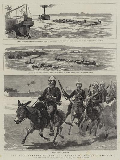 The Nile Expedition for the Relief of General Gordon-Frederic Villiers-Giclee Print