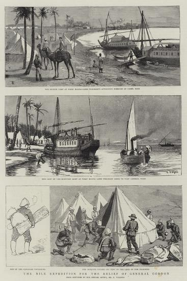 The Nile Expedition for the Relief of General Gordon--Giclee Print