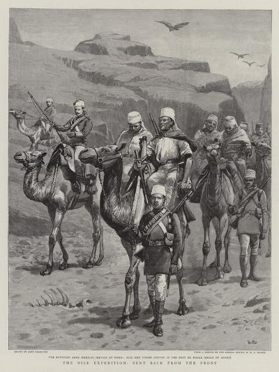 The Nile Expedition, Sent Back from the Front-John Charlton-Giclee Print