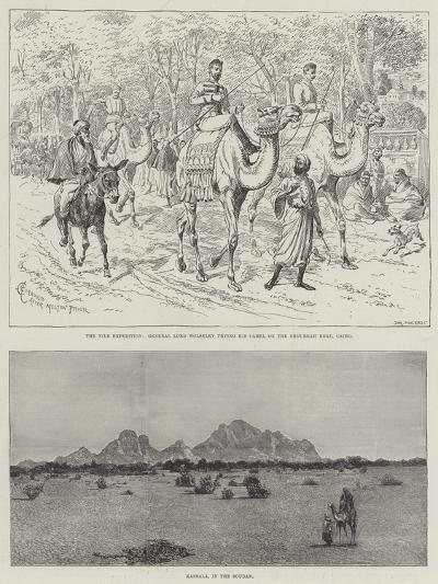 The Nile Expedition-Alfred Courbould-Giclee Print