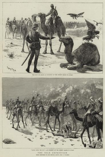 The Nile Expedition-Frederic Villiers-Giclee Print