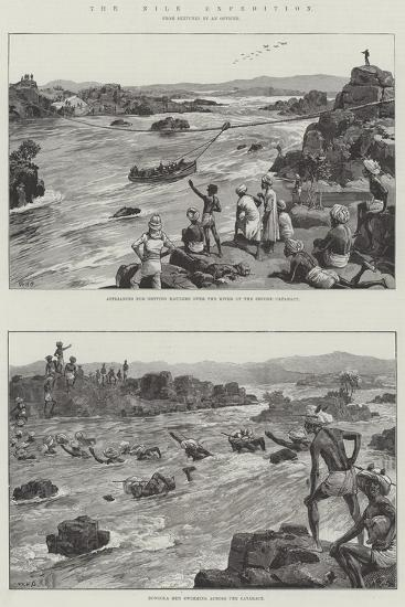 The Nile Expedition-William Heysham Overend-Giclee Print