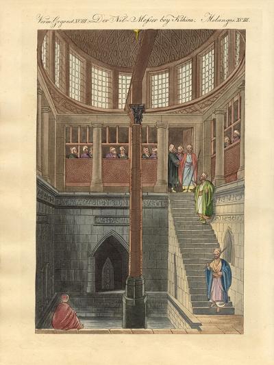 The Nilometer on the Island of Rawda Near Cairo--Giclee Print