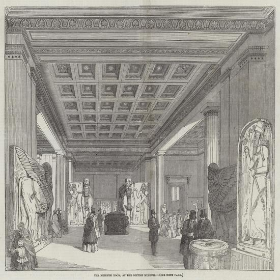 The Nineveh Room, at the British Museum--Giclee Print