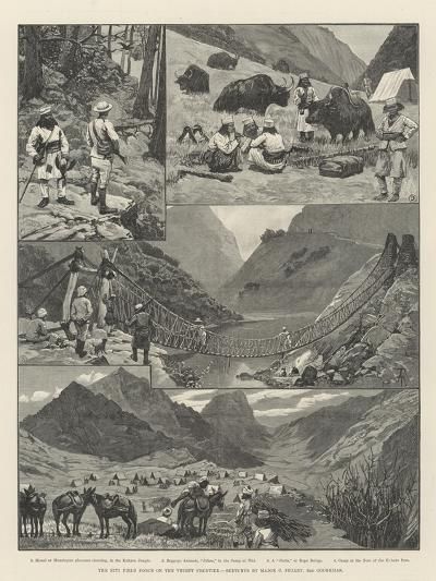 The Niti Field Force on the Thibet Frontier-Amedee Forestier-Giclee Print