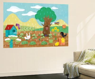 The Noisy Garden - Humpty Dumpty-Sheree Boyd-Wall Mural