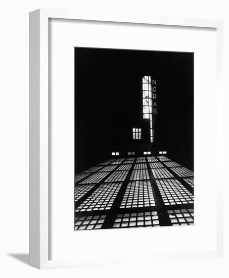 The NORAG (Nordeutscher Rundfunk or NDR) Building in Hamburg, Rothenbaumcha-German photographer-Framed Photographic Print