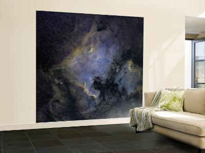 The North America Nebula and the Pelican Nebula in the Constellation Cygnus--Wall Mural – Large