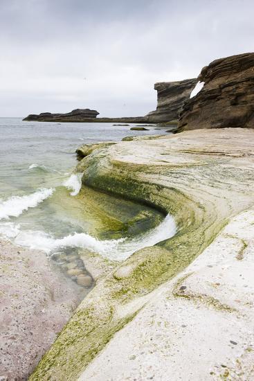 The North Atlantic, Bear Island, Rock Coast-Frank Lukasseck-Photographic Print