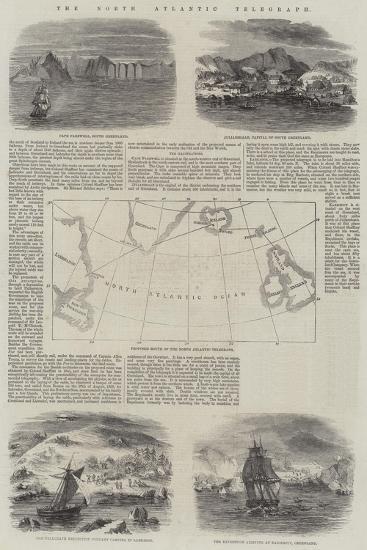 The North Atlantic Telegraph--Giclee Print