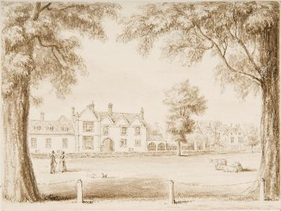 The North Canonry and the Wardrobe, Illustration from 'Hall's Picturesque Memorials of…--Giclee Print