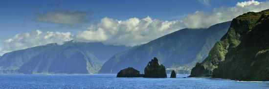 The North Coast of Madeira Island, Near Ribeira Da Janela, Portugal-Mauricio Abreu-Photographic Print