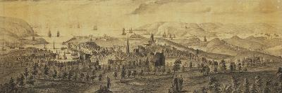 The North East Prospect of Plymouth, in the County of Devon-Samuel and Nathaniel Buck-Premium Giclee Print