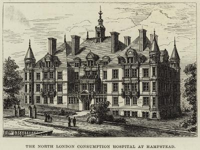 The North London Consumption Hospital at Hampstead--Giclee Print