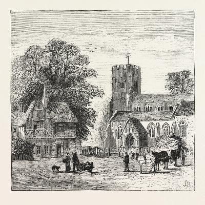 The North of London, Church End, Finchley, 1876, UK--Giclee Print