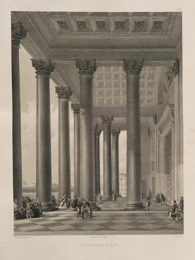 The North Portal of the Saint Isaac's Cathedral, 1845-Auguste de Montferrand-Giclee Print
