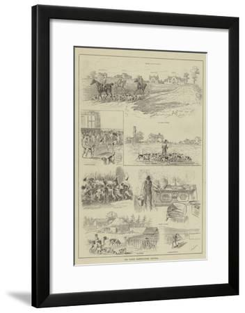 The North Warwickshire Kennels--Framed Giclee Print