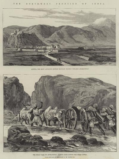 The North-West Frontier of India--Giclee Print