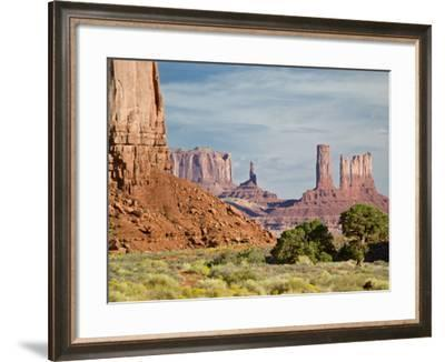 The North Window, Monument Valley Navajo Tribal Park, Utah, USA-Charles Crust-Framed Photographic Print