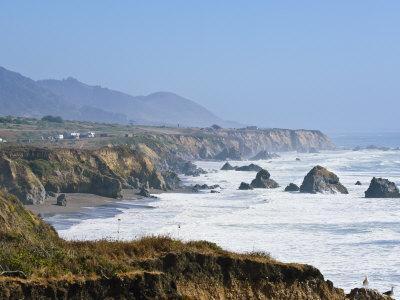 The Northern California Coastline, California, United States of America, North America-Michael DeFreitas-Photographic Print