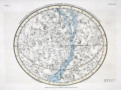 The Northern Hemisphere, from 'A Celestial Atlas' 1822-Alexander Jamieson-Giclee Print