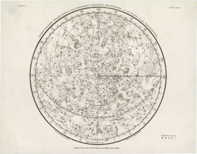 The Northern Hemisphere Including the Signs of the Zodiac