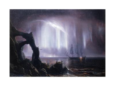 The Northern Lights (Aurora Borealis)-Theodore Gudin-Giclee Print