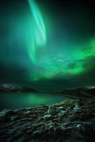 The Northern Lights Rising-Solarseven-Photographic Print