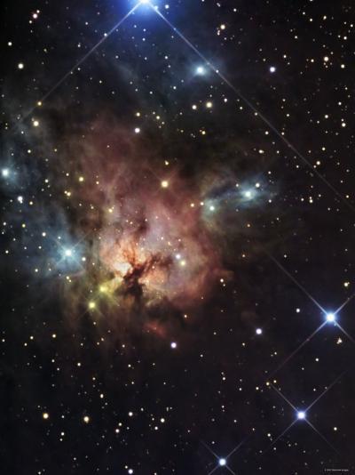 The Northern Trifid Nebula-Stocktrek Images-Photographic Print