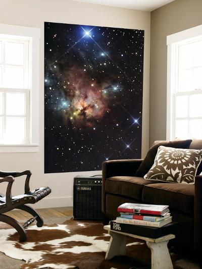 The Northern Trifid Nebula--Giant Art Print