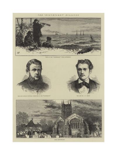 The Northfleet Disaster-Joseph Nash-Giclee Print
