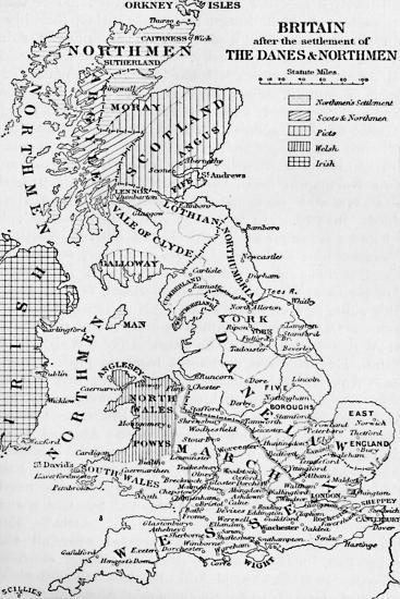 'The Northmen in England', 1902-Unknown-Giclee Print