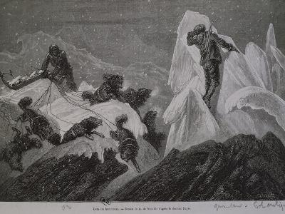 The Norwegian Expedition in Greenland, Between the Ice, 1888--Giclee Print