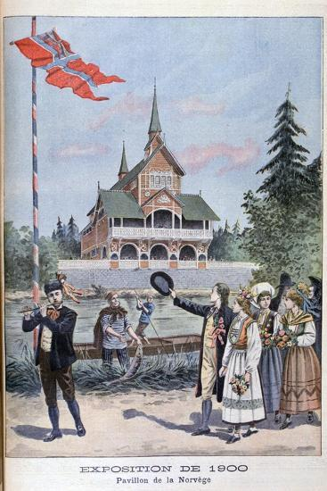 The Norwegian Pavilion at the Universal Exhibition of 1900, Paris, 1900--Giclee Print