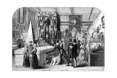 The Nova Scotia Section of the Paris International Exhibition, 1867--Giclee Print