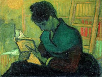 The Novel Reader, 1888-Vincent van Gogh-Giclee Print