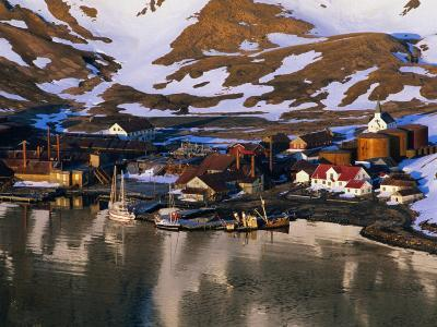 The Now Abandoned Grytviken Whaling Station in King Edward Point, Antarctica-Grant Dixon-Photographic Print