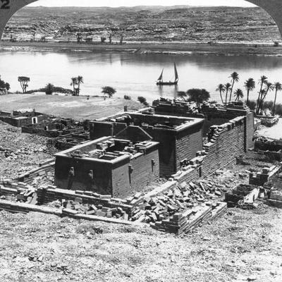 The Nubian Temple of Kalabsheh, Egypt, 1905-Underwood & Underwood-Photographic Print