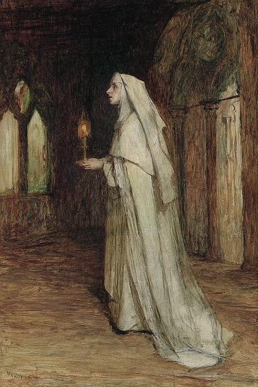 The Nun-William Quiller Orchardson-Giclee Print