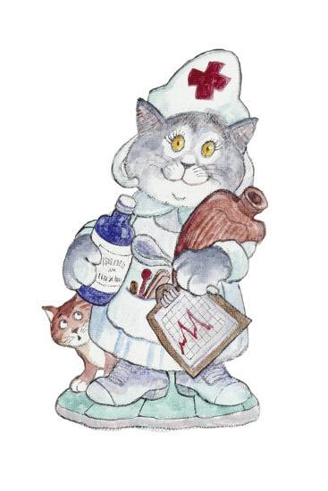 The Nurse-Bill Bell-Giclee Print