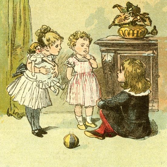 The Nursery 1885 U.K.--Giclee Print