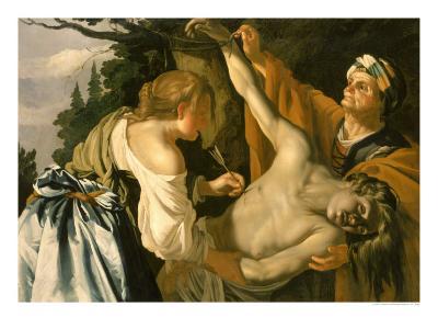 The Nursing of Saint Sebastian, 1622-Theodore van Baburen-Giclee Print