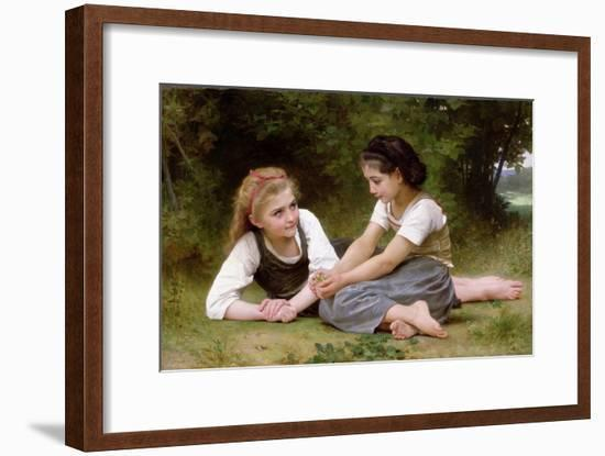 The Nut Gatherers, 1882-William Adolphe Bouguereau-Framed Giclee Print