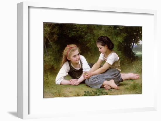 The Nut Gatherers, 1882-William Adolphe Bouguereau-Framed Giclee Print