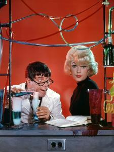 The Nutty Professor 1963 Directed by Jerry Lewis Jerry Lewis and Stella Stevens.
