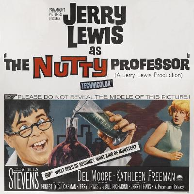 The Nutty Professor, 1963--Giclee Print