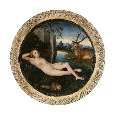 The Nymph of the Spring-Lucas Cranach the Elder-Giclee Print